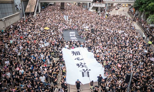 Courage, determination and the eternal will to fight for freedom have won a great triumph in Hong Kong