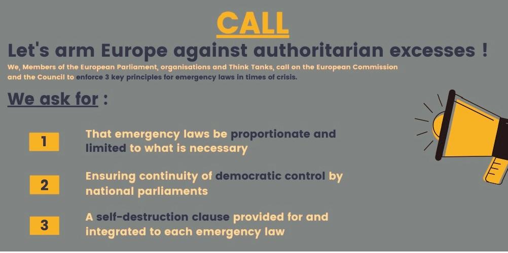Let's arm Europe against authoritarian excesses